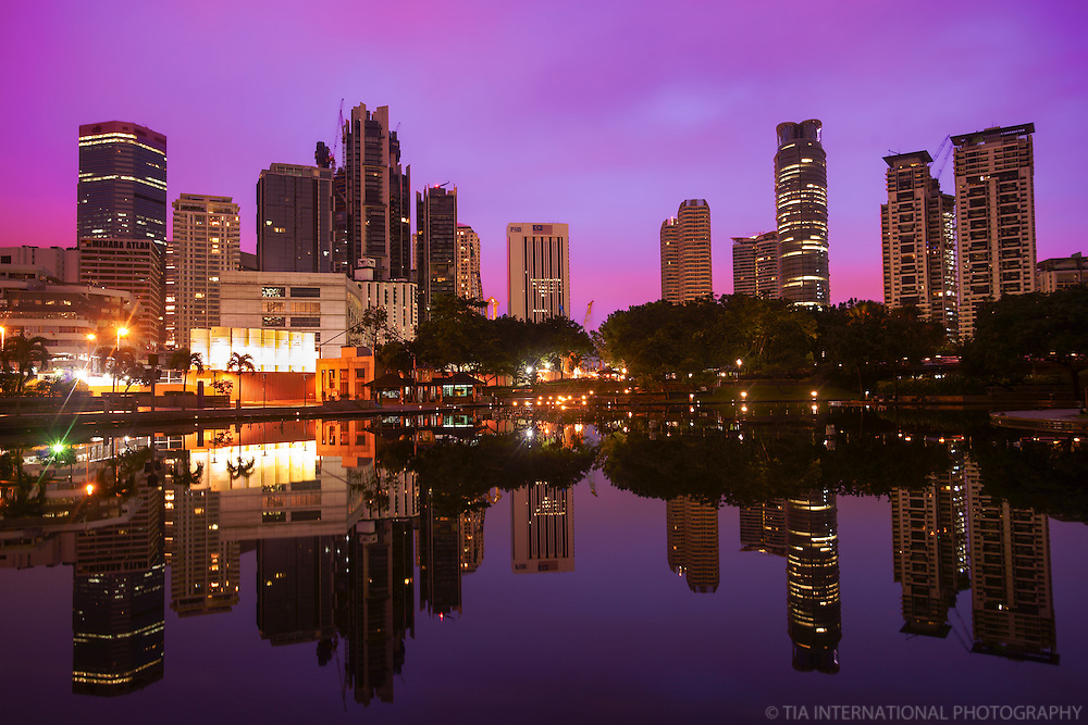 KLCC Park @ Sunrise