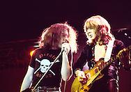 Bad Company 1976 Paul Rodgers and Mick ralphs.© Chris Walter.