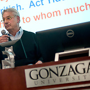 Fritz Wolff delivers the 2017 Pigott Entrepreneurship Lecture on March 21.