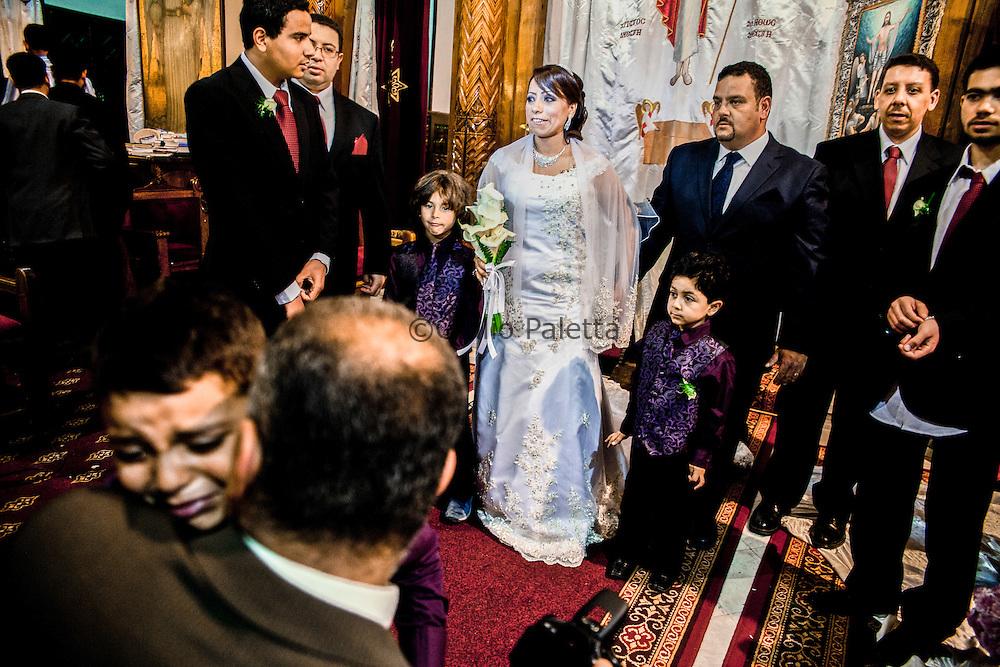 Coptic Wedding in Cairo
