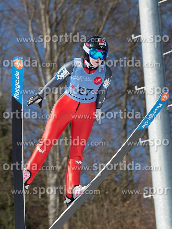 31.01.2015, Energie AG Skisprung Arena, Hinzenbach, AUT, FIS Ski Sprung, FIS Ski Jumping World Cup Ladies, Hinzenbach, Wettkampf im Bild Chiara Hölzl (AUT) // during FIS Ski Jumping World Cup Ladies at the Energie AG Skisprung Arena, Hinzenbach, Austria on 2015/01/31. EXPA Pictures © 2015, PhotoCredit: EXPA/ Reinhard Eisenbauer