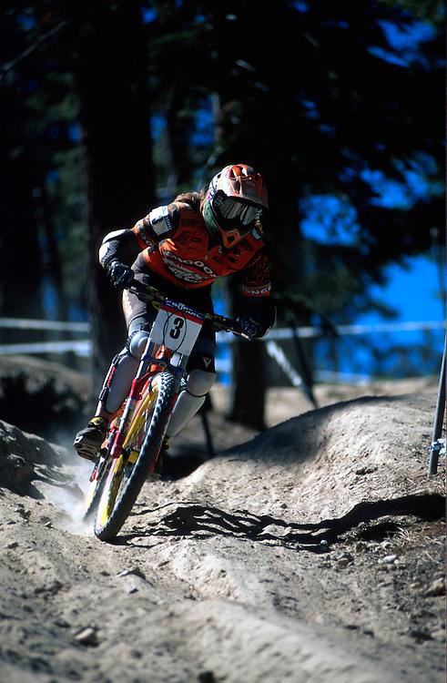 Grundig world cup downhill,Big Bear ,CA. 1998