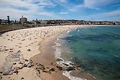 Beach and bays at Bondi, Coogee & Bronte Sydney, Australia