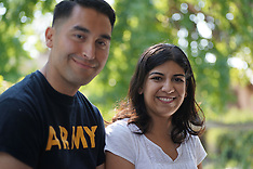 Hispanic Soldier/Student/At Home/Couple