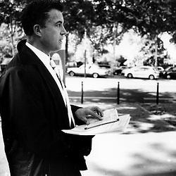 Bertrand Pancher, depute UMP du sud meusien a rendez-vous pour la premiere fois a Matignon...25 septembre 2007..Photo : Antoine Doyen