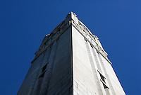 Memorial Belltower. PHOTO BY ROGER WINSTEAD
