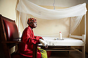 Fran&ccedil;oise fled her village after a fire was set to her house. Harshly burned, she couldn&rsquo;t save two of her children. &lsquo;&lsquo;War pursues us, she says, everywhere we go we would find assailants. Anywhere we are overwhelmed by worries.&rsquo;&rsquo;<br /> At Rusthuru hospital, she gets help for everyday life tiny gesture: eating, washing, moving, but also protecting her skin from what has become an unbearable sun.