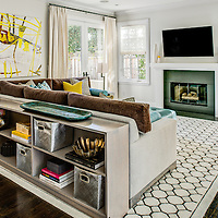 Traditional style residential remodel