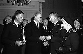 1961 - Dr Joseph Barnes and Dr John Murphy receive Red Cross medal for service in the Congo