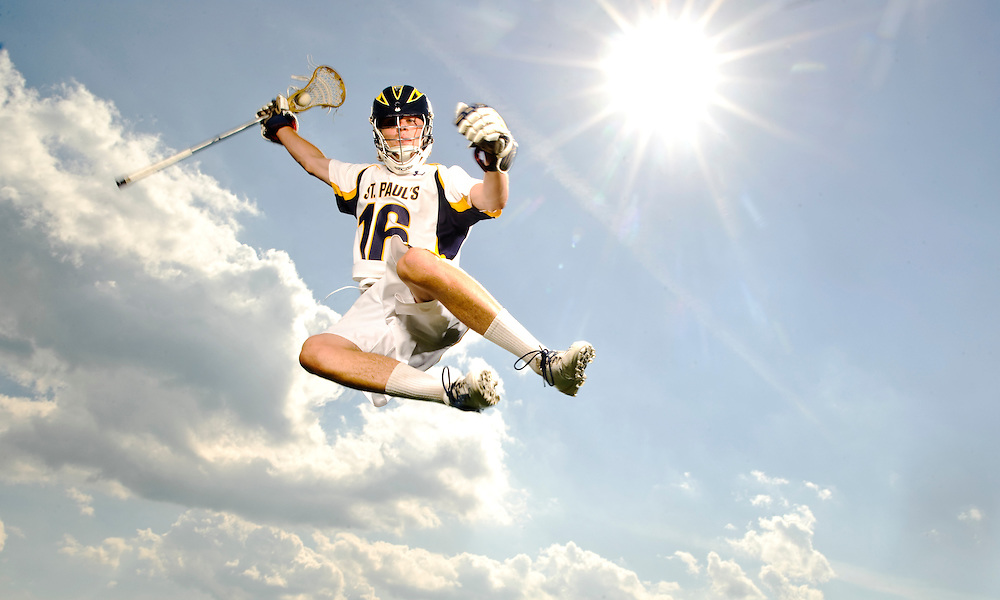 (staff photo by Matt Roth)..St. Paul's graduating senior Andrew Barton is the boys athlete of the year. He will be playing lacrosse for Providence next year. He is photographed at St. Paul's School Thursday, June 10, 2010.