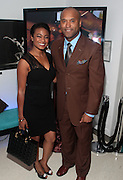 14 September 2010-New York, NY- l to r: Tatiana Ali and Londell McMillan at The Jones Awards Celebrating Diversity in Fashion and Beauty Present by ' My Black Is Beautiful ' and held at The Alvin Ailey Citigroup Theater on September 14, 2010 in New York City. Photo Credit: Terrence Jennings