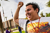 High School Students March on Arizona State Capitol