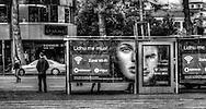 Faces in Tirana - billboards