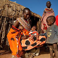 Locl community at Samburu