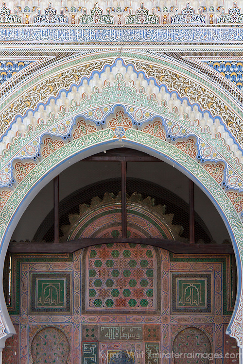 Africa, Morocco, Fes. Karaouine University, or al Qarawiyyin, the oldest existing educational institution in the world.