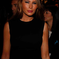 Melania Trump at Michael Kors - during Mercede's Benz Fashion Week Spring 2010 on September 13, 2009. ..