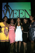 Sabrina Thompson, Lauren Lake, Valiesha Butterfield, Melyssa Ford and Kristi Henderson at The Women in Entertainment Empowerment Network (WEEN) Signature, Fundraising series VIPink with An Exclusive Performance by Grammy Winning Super Producer/Songwriter Bryan-Michael Cox at the Boucarou Lounge on April 30. 2008.