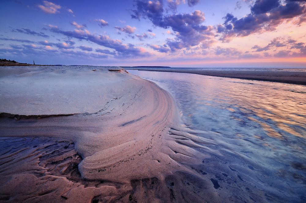 Sunset At Esch Beach<br /> Sleeping Bear Dunes National Lakeshore