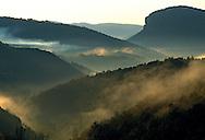 France, Languedoc Roussillon, Gard, Cevennes, Montagne de la Fage , Saint-Hippolyte-du-Fort