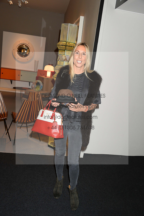 HAYLEY SIEFF at the PAD Art and Design Fair 2013 Collectors Preview in Berkeley Square, London on 14th October 2013.
