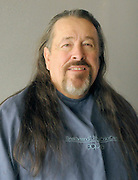 gbs121213i/ASEC -- John Morelock with his long hair before having it cut off for Pantene Beautiful Lengths which gives free wigs to adult cancer victims(Greg Sorber/Albuquerque Journal)