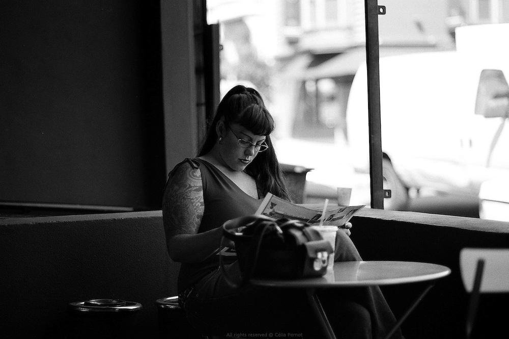 Café on Haight street, San Francisco