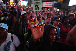 Thousands protested in Manhattan against George Zimmerman's not guilty verdict in the killing of Trayvon Martin
