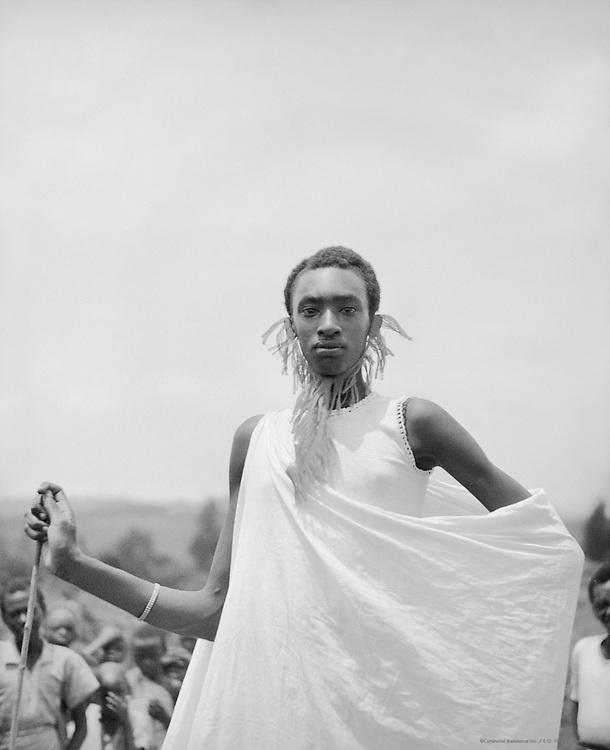 Watussi Man, Nyanza, Ruanda-Urundi (now Rwanda), Africa, 1937