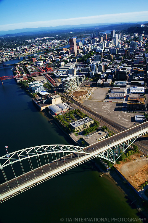 Fremont Bridge, Pearl District, Portland