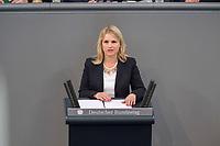 24 MAR 2017, BERLIN/GERMANY:<br /> Verena Bentele, Beauftragte der Bundesregierung<br /> f&uuml;r die Belange von Menschen mit Behinderungen, haelt eine Rede, waehrend der Bundestagesdebatte zum Teilhabebericht der Bundesregierung 2016, Plenum, Deutscher Bundestag<br /> IMAGE: 20170324-01-059