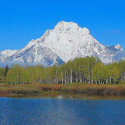 Grand Tetons - Oxbow Bend, WY - Panoramic