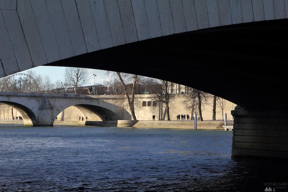 Views along the River Seine in Paris