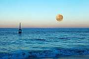 Super Moon Cottesloe beach Nov 14 2016, Available #01/10 Terry Lyon Photography