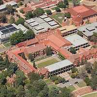 Aerial photo, Canberra Grammer School, Red Hill, ACT