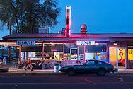 USA, Oregon,Prineville,American Dreamscapes  Tastee Treet