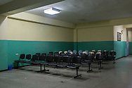 2016/05/29 - Barcelona, Venezuela: An empty room at the ambulatory in El Troncal, Barcelona. The lack of patients is not a sign that there is not ill people, but a sign that the x-ray facility stopped working years ago. (Eduardo Leal)