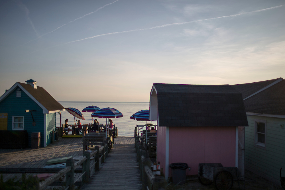 CAPE CHARLES, VA - JUNE 20: The Sunset Beach Grille is pictured on Friday, June 20th, 2014 near Cape Charles, Va. (Photo by Jay Westcott/For The Washington Post)