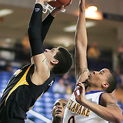 (#1) Isaiah Philmore with the ball during Towson Delaware game. Delaware defeated Towson 80-70 at The Bob Carpenter Center Wednesday night In Newark Delaware.
