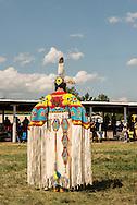 Crow Fair Powwow, Womens Traditional Dancer, Crow Indian Reservation, Montana