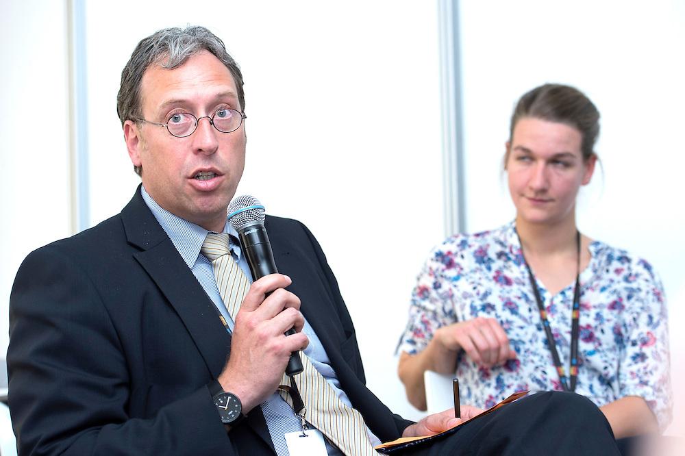 03 June 2015 - Belgium - Brussels - European Development Days - EDD - Growth - Fighting poverty through innovative business models - Thomas Rolf , Senior Manager - Marianne Kuhlmann<br /> Co-Founder of AMPION &copy; European Union