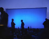 Cinéma en plein air au parc de la Villette, Paris, 2004