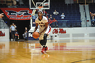 "Ole Miss' Danielle McCray (22) vs. Lamar in women's college basketball at the C.M. ""Tad"" Smith Coliseum in Oxford, Miss. on Monday, November 19, 2012.  Lamar won 85-71."