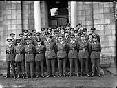 1958 – 23/09 Army Officers for Lebanon at GHQ