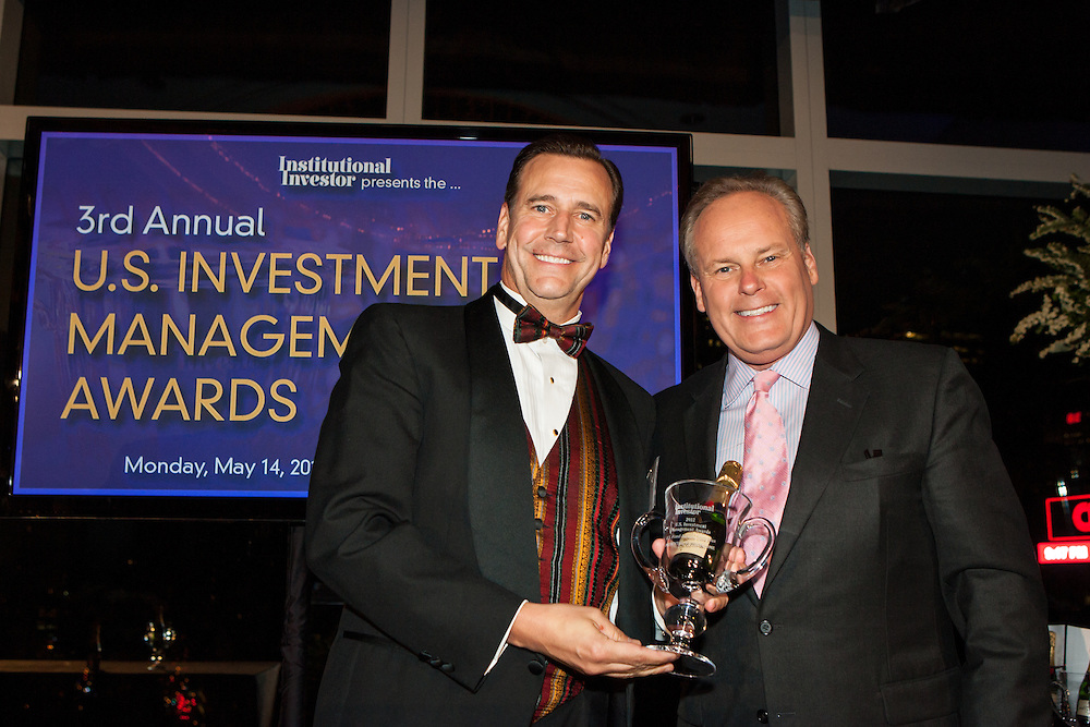 Institutional Investor's 3rd Annual U.S. Investment Management Awards held on May 14, 2012 at the Mandarin Oriental Hotel in New York.