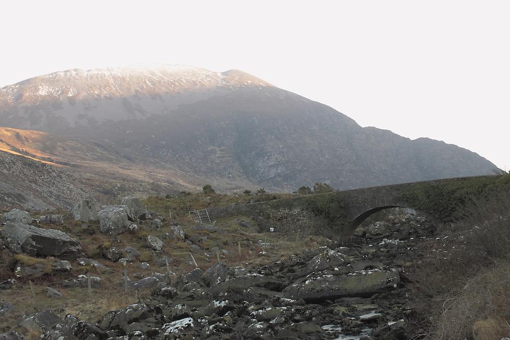 Mountains in Killarney, Ireland.