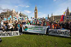 2017-02-20 'One Day Without Us' migrant worker demonstration outside Parliament