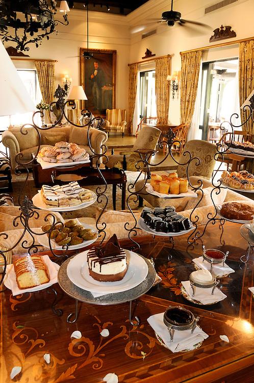 Afternoon Tea, Royal Livingstone Hotel, Livingstone, Southern Province, Zambia