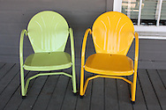 Chairs on the porch.