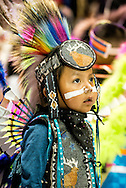 Gathering of Nations Pow Wow, Navajo, boy, kids, Traditional Dancer, Albuquerque, New Mexico