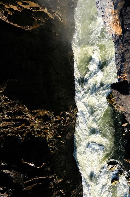 Canyon, Victoria Falls, Zambesi River, Livingstone, Southern Province, Zambia